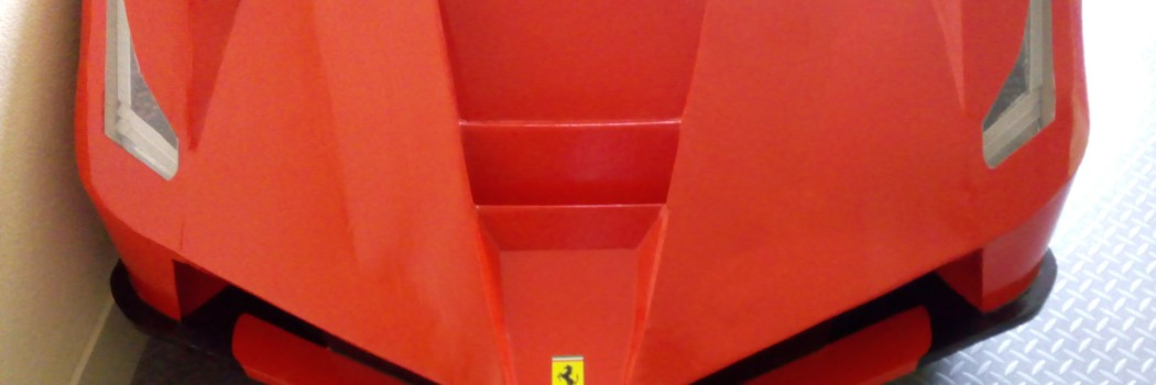 La Ferrari kinderbed