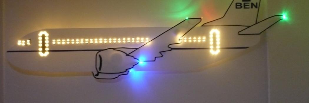 Wandlamp dreamliner